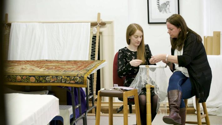 Royal School of Needlework - Operation Royal Wedding