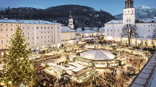 Salzburg at Christmas.