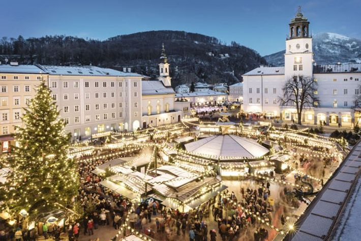 Salzburg at Christmas.