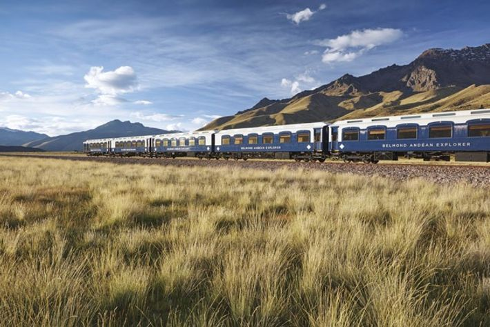 The Belmond Andean Explorer.