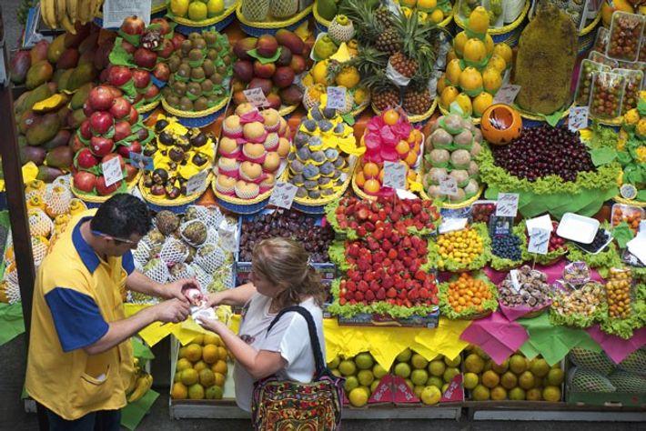 São Paulo's famous Municipal Market.