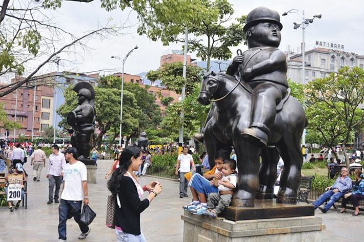Plaza Botero.