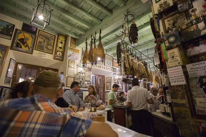 Café Bar Las Teresas. Image: Nori Jemil