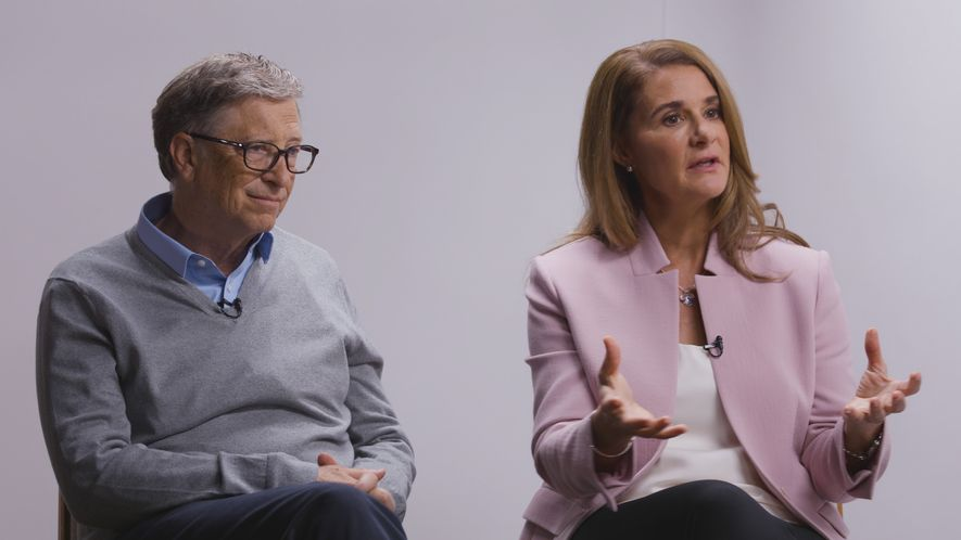 Bill and Melinda Gates discuss their Goalkeepers Report, an Effort to Spur Progress on Global Concerns