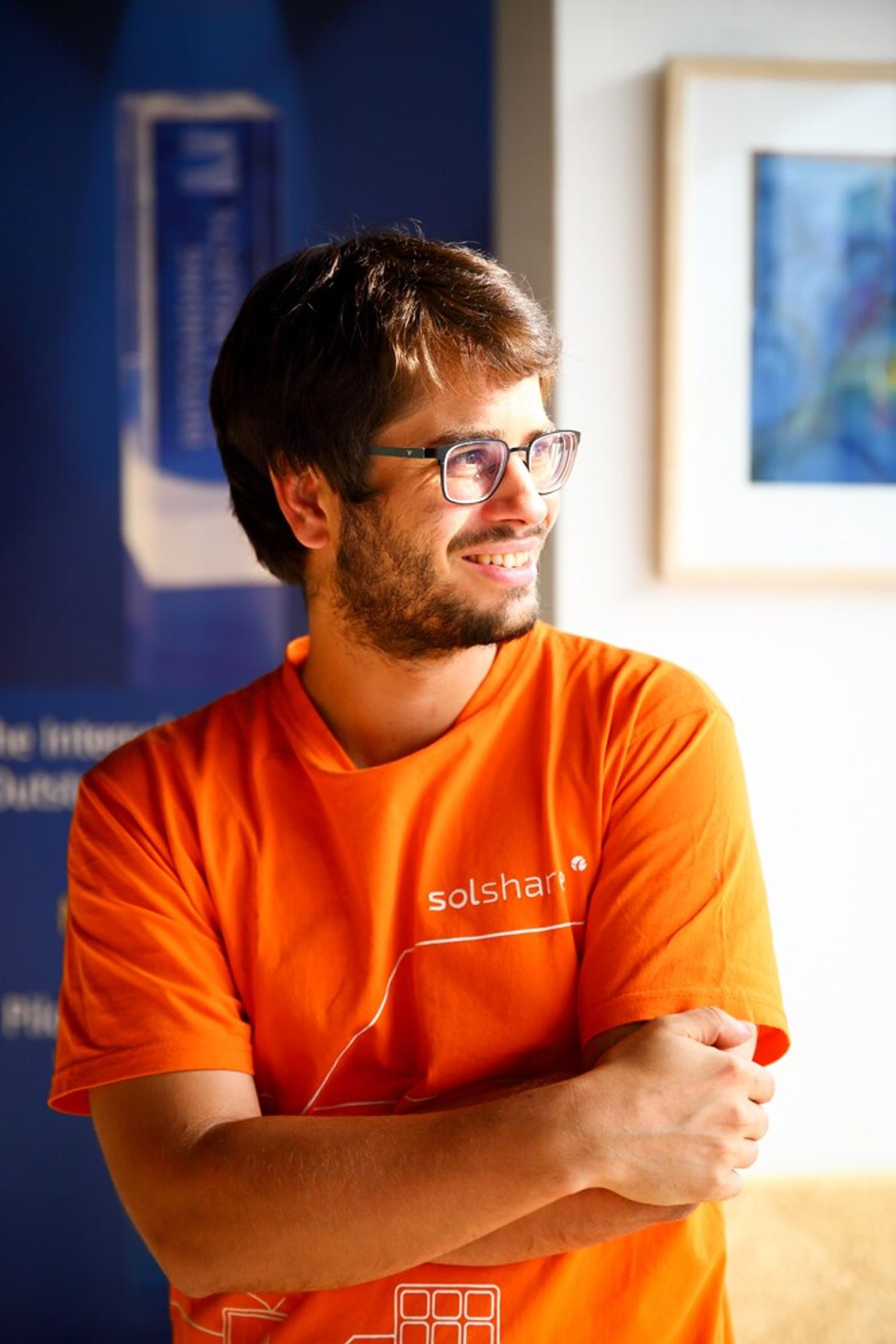 Dr. Sebastian Groh, CEO and Co-Founder of SOLshare, who created SOLbazaar.