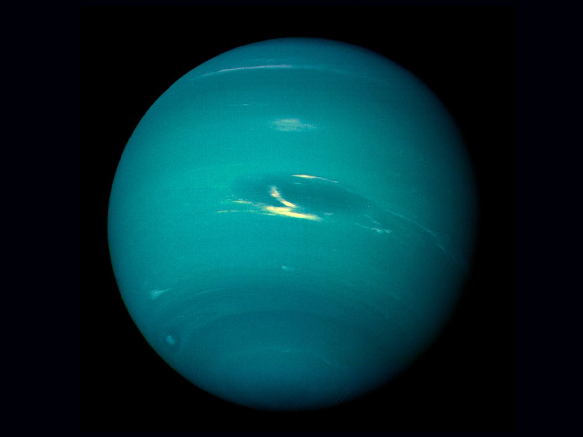 Voyager 2 completed its final planetary flyby on August 25, 1989, as it zoomed by Neptune—capturing ...