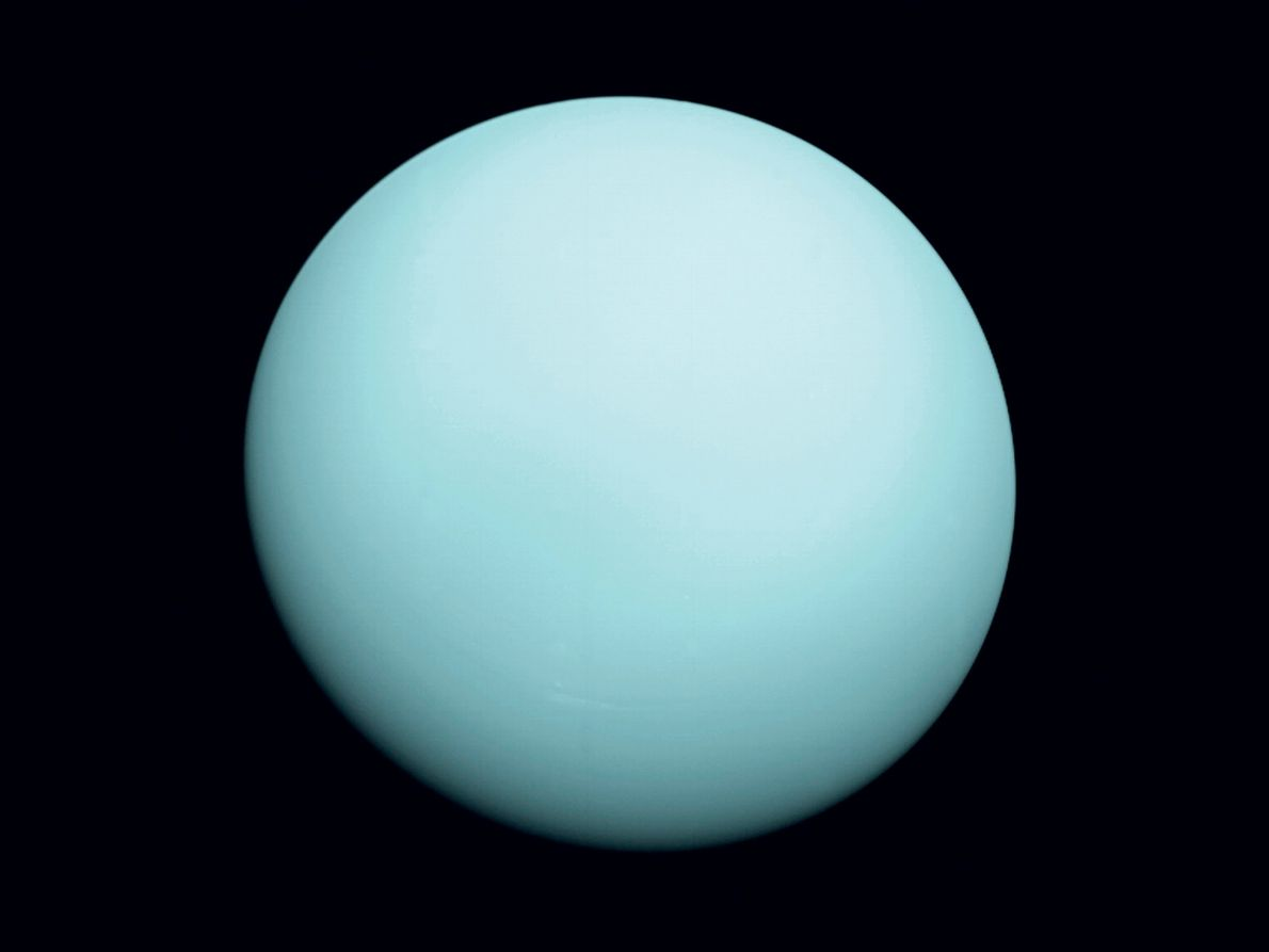 On January 24, 1986, Voyager 2 came within 50,600 miles of the ice giant Uranus, sending ...