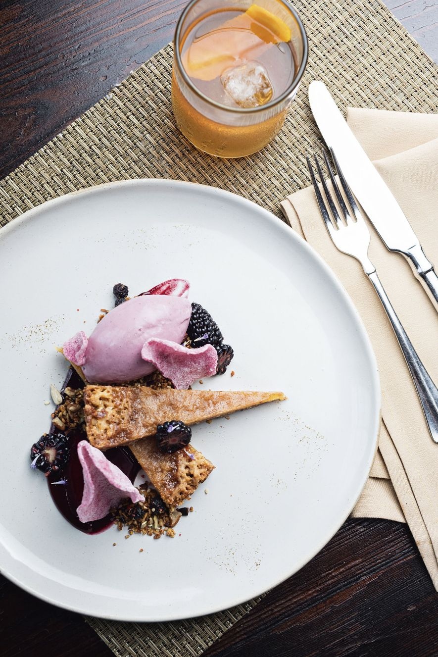 Reimagined Southern cuisine at Husk Restaurant, Charleston.