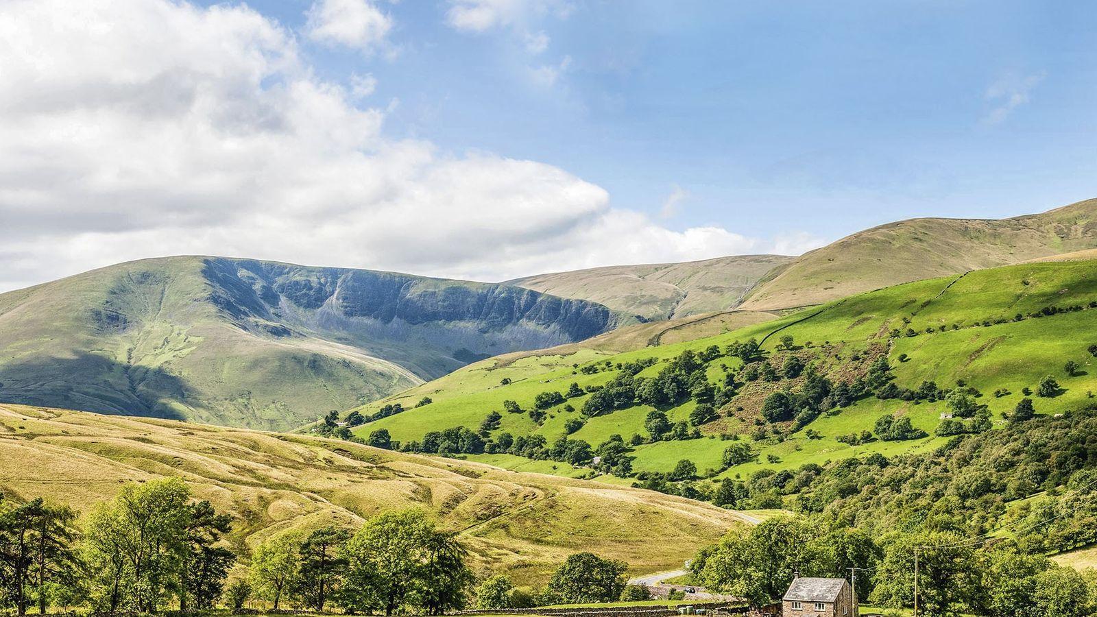 Howgill Fells' countryside