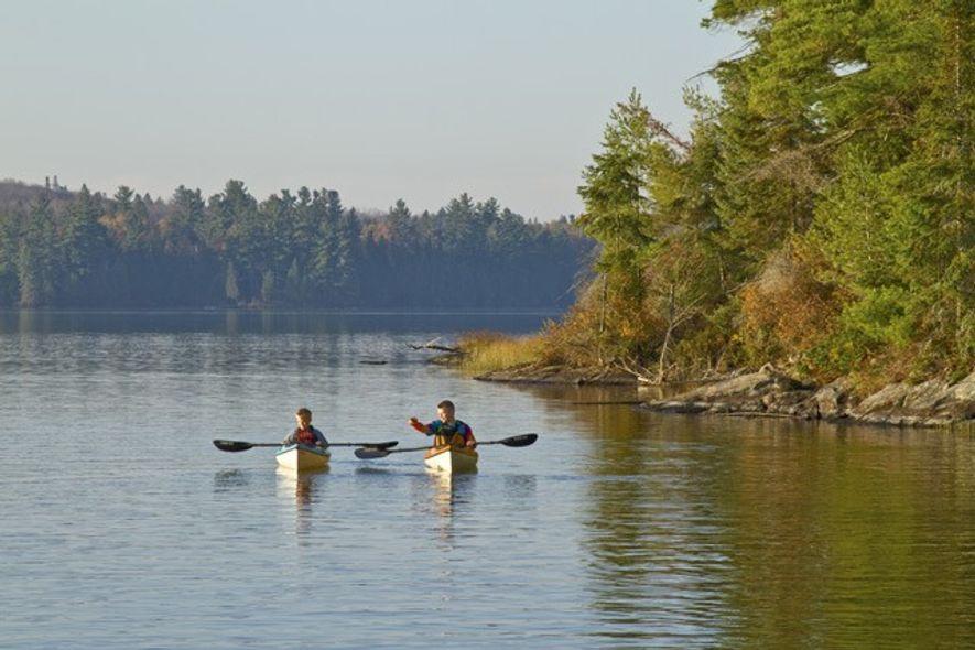 Source Lake, Algonquin Park, Canada.