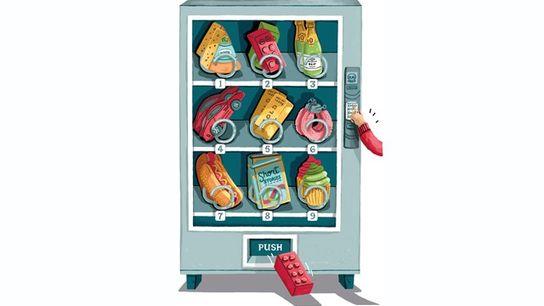 Vending machine items