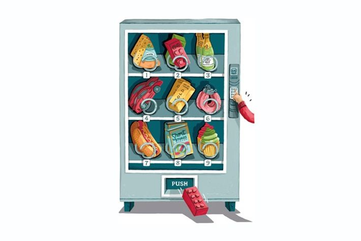 Vending machine items
