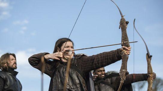 Archery practise