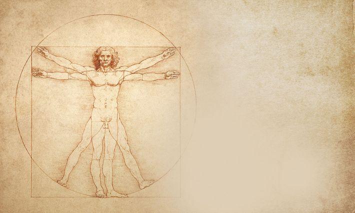 Vitruvian Man, Leonard da Vinci