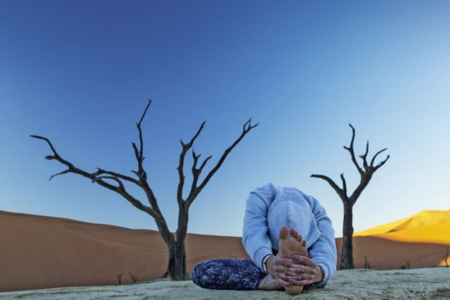 Yoga Safari, Namibia