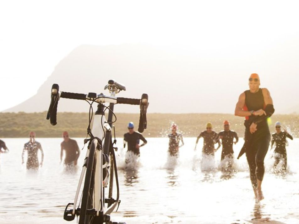 Triathlons: Swim, cycle, run, repeat