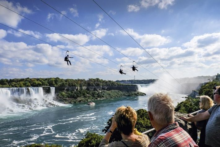 Do it now: Zip line thrill rides