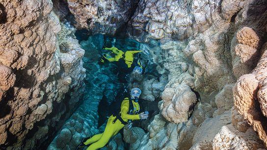Grotta Giusti, Tuscany, Italy