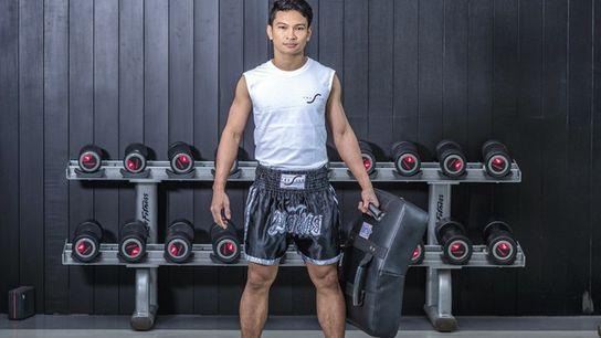 Muay Thai training at The Siam