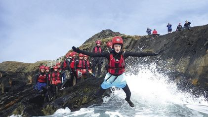 Coasteering: what it is and where to do it