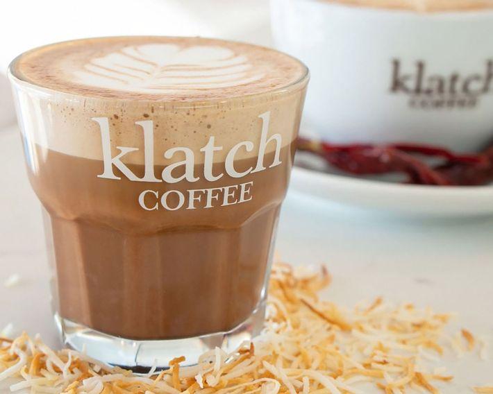 Cup of Klatch coffee