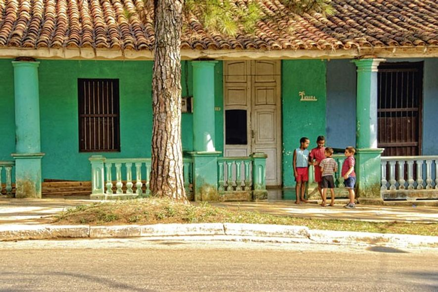 Kids in Viñales, Cuba