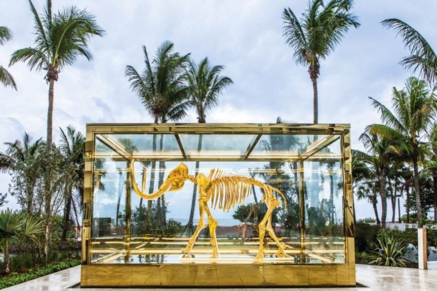 'Gone but not Forgotten', Damien Hirst.