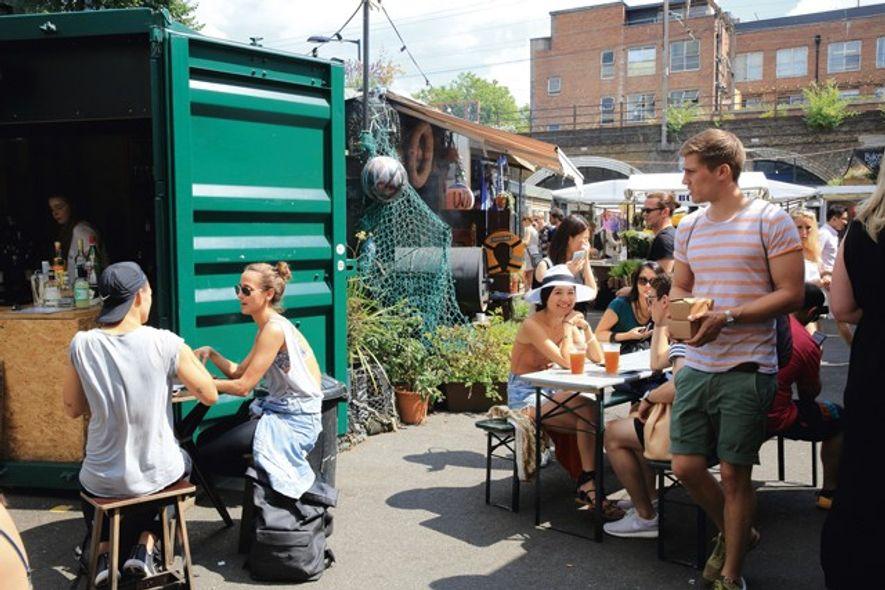 Netil Market, East London