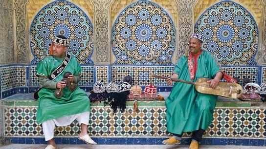 Carcaba and Gambri players, Tangier