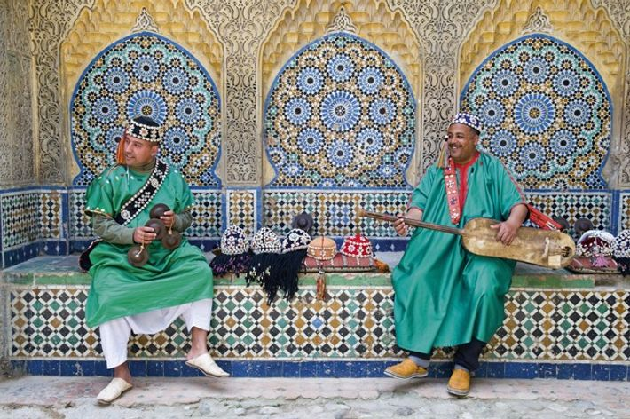 Carcaba and Gambri players, Tangier
