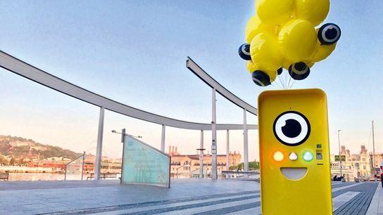 Snapbot in Barcelona