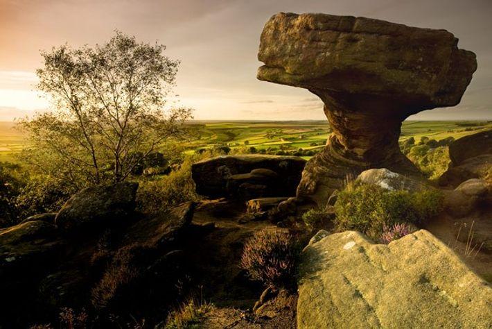 Brimham Rocks, Nidderdale Area of Outsanding Natural Beauty.