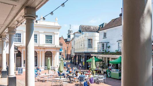 A traveller's guide to Tunbridge Wells, Kent