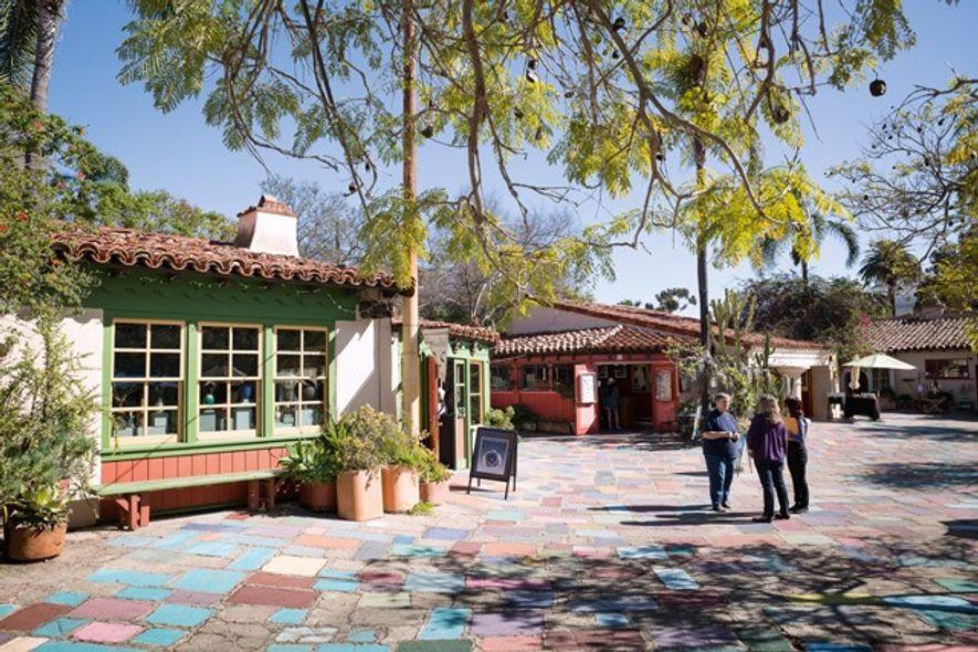 Spanish Village Art Center. Image: Chris Van Hove