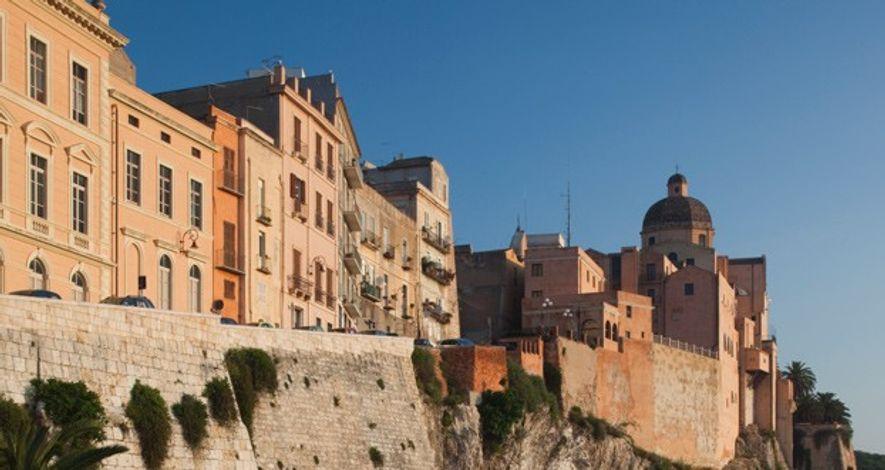 Il Castello, Cagliari, Sardinia.