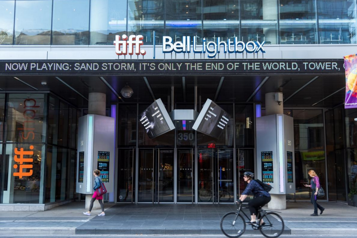 The TIFF Bell Lightbox cultural centre is in the heart of Toronto's media and entertainment district.