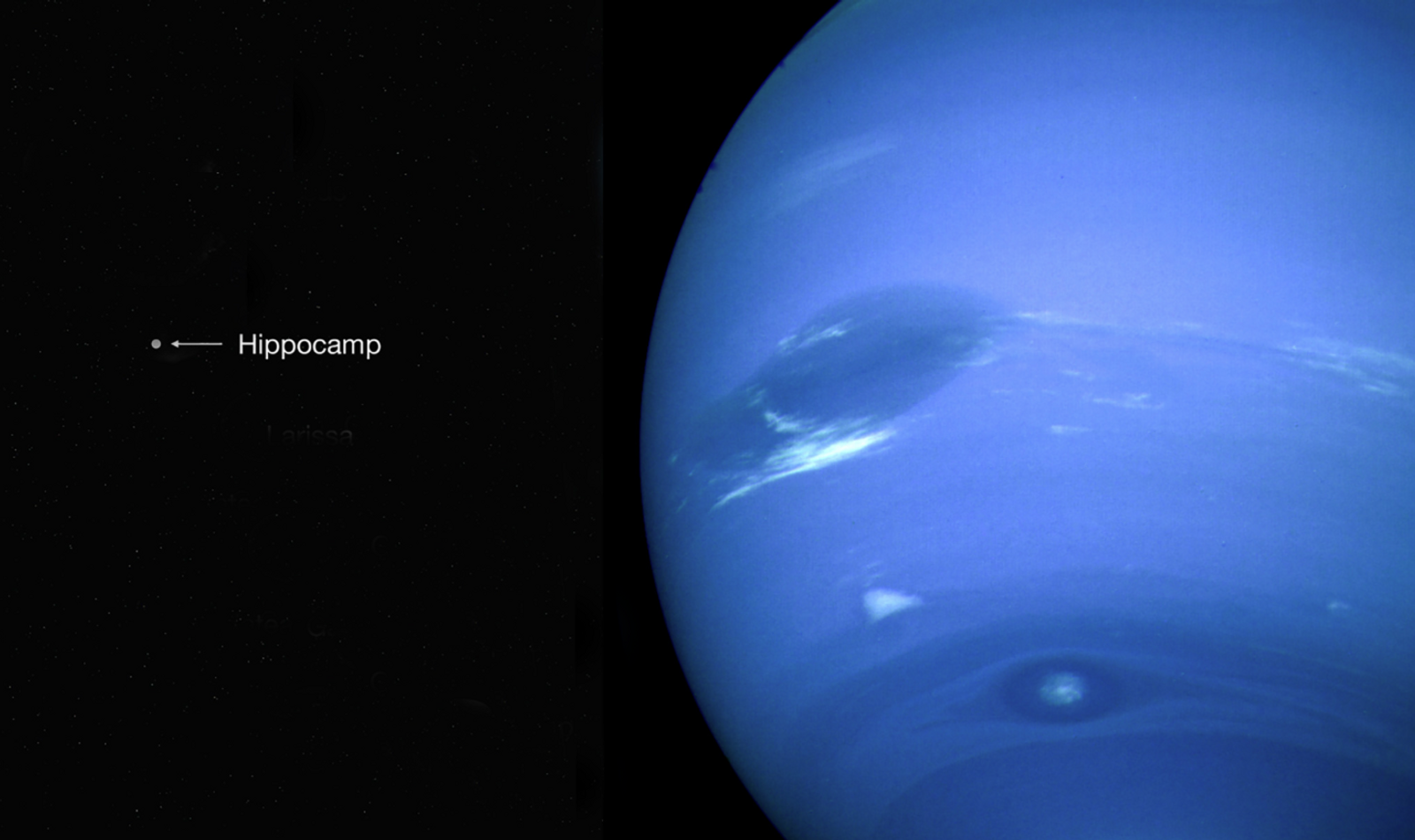 Impact-ravaged moon discovered orbiting Neptune