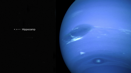 Impact-ravaged moon discovered orbiting Neptune
