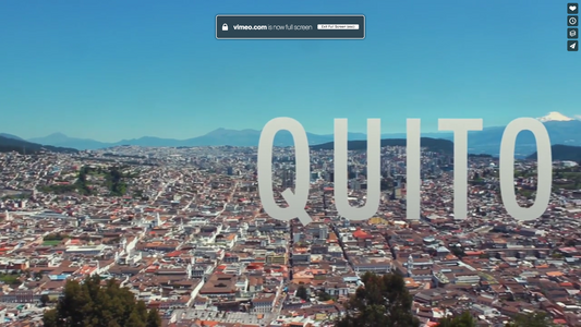 Travel video of the week: Quito