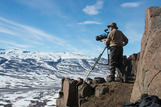 On location in Greenland for Hostile Planet. The crew numbered 245 and the shoot spanned all ...