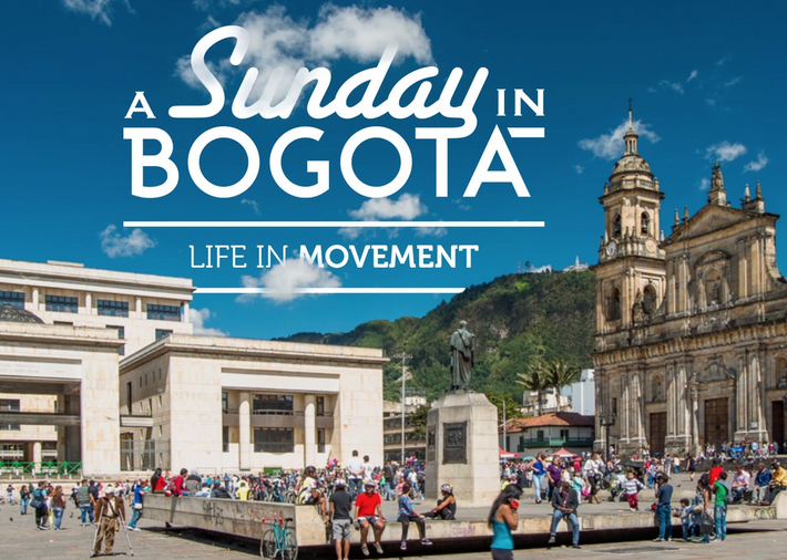 Travel video of the week: A Sunday in Bogotá.