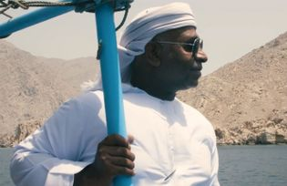 Fisherman Abdulfattah Ahmed Al Shehhi fishes less than he would like these days, but still spends ...