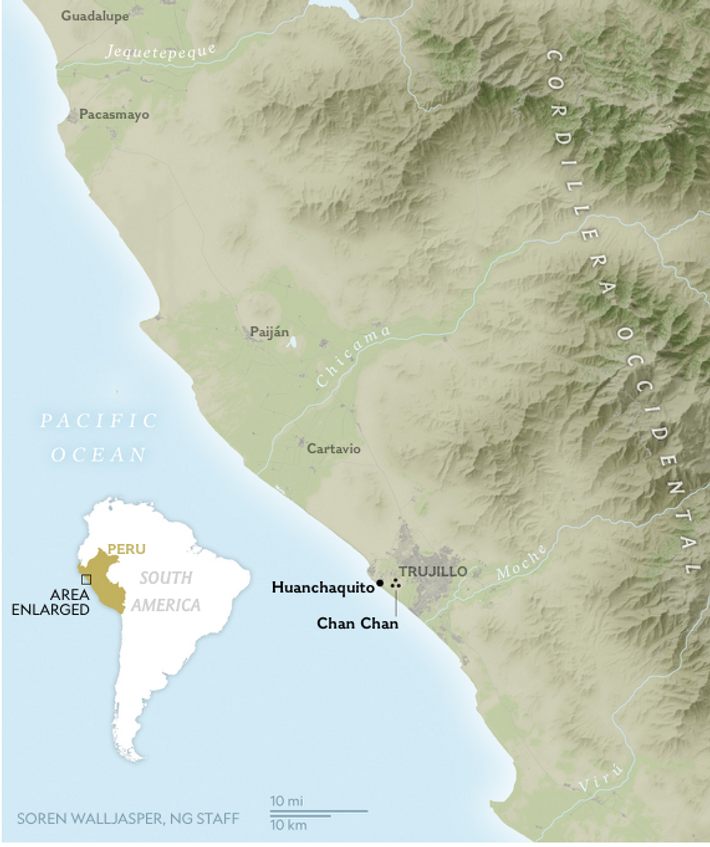 Human settlements along Peru's north coast are susceptible to climactic disruptions caused by El Niño weather ...