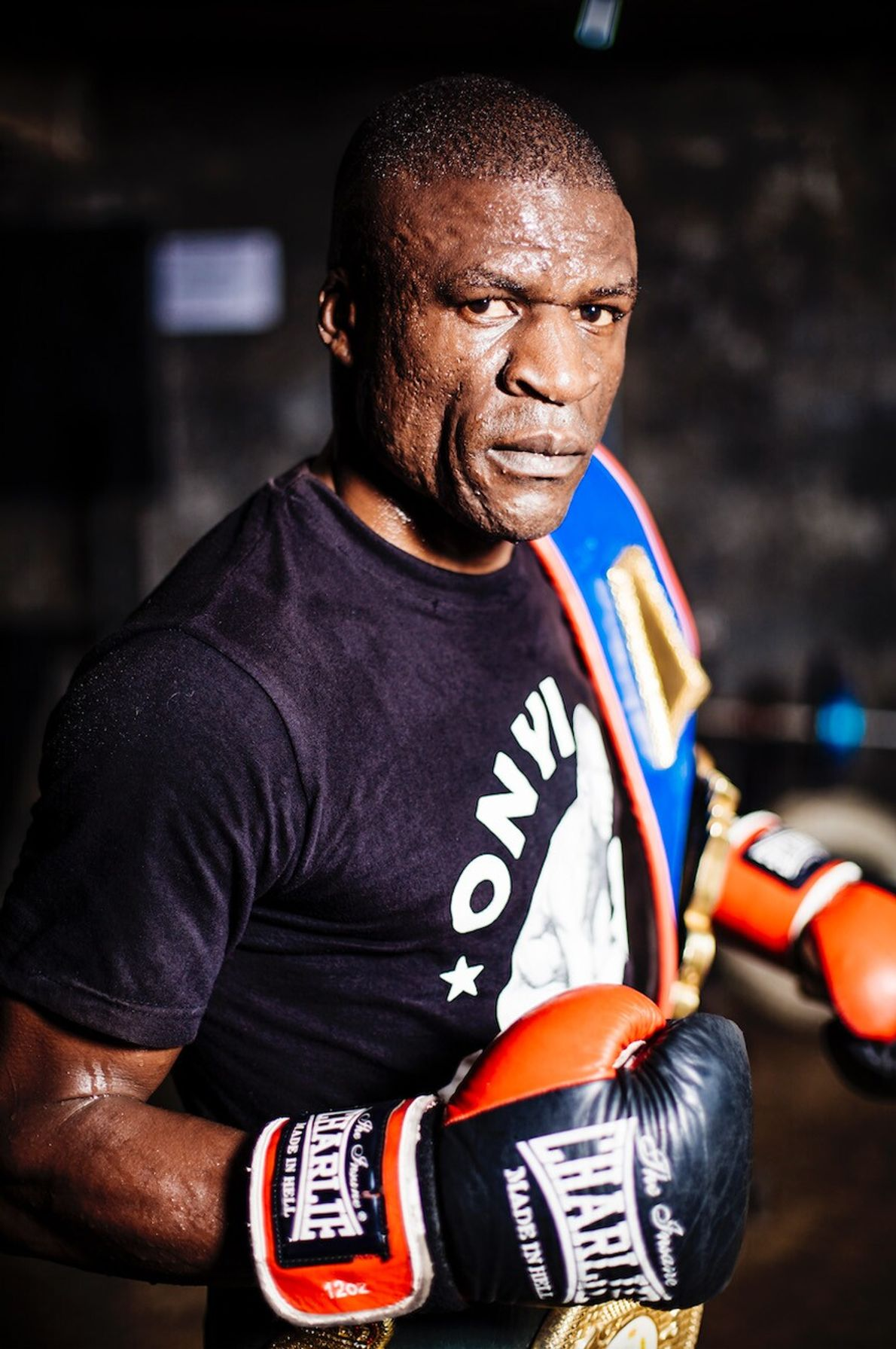 Onyango first got interested in boxing when he saw Moses Kinyua, also from Kariobangi, win a ...