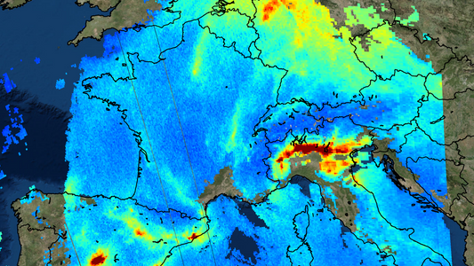 New satellite exposes pollution hotspots on Earth