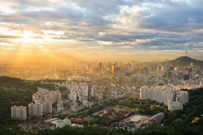 View over Seodaemun-gu, Seoul