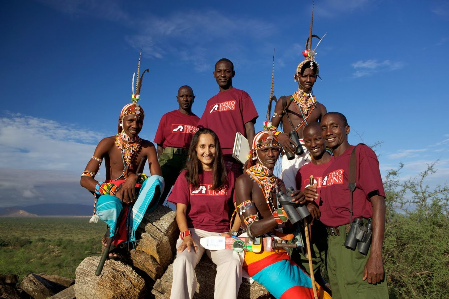 Shivani Bhalla, the field team and members of the local community.