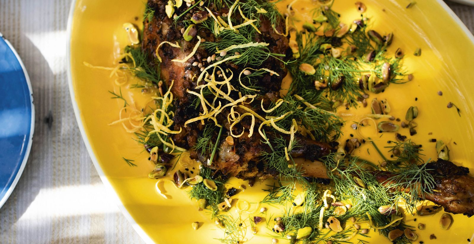 How to make it: Alberto Bourdeth's slow-roasted goat recipe