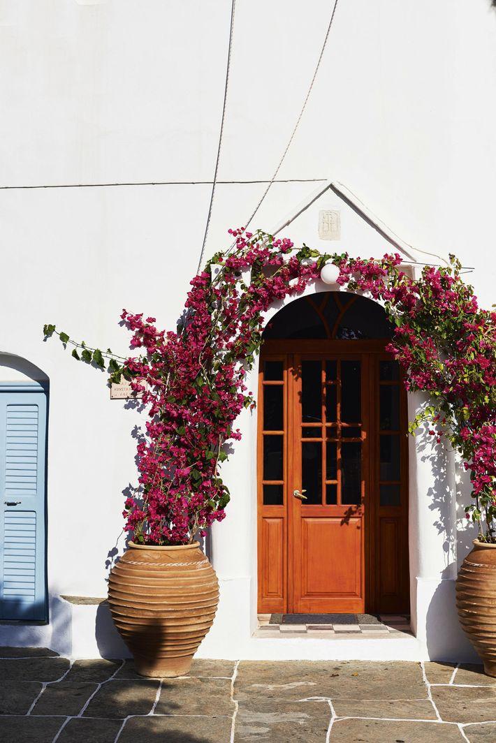 Doorway in the village of Artemonas.