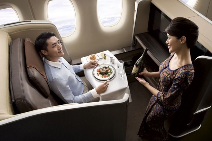 Flying with Singapore Airlines